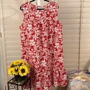 Hawaiian summer dress lightweight & COMFY!